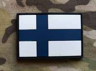101inc Finland Flag PVC Patch - nášivka