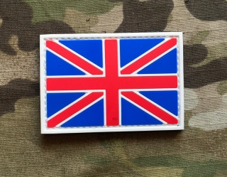 101inc United Kingdom Flag PVC Patch - nášivka