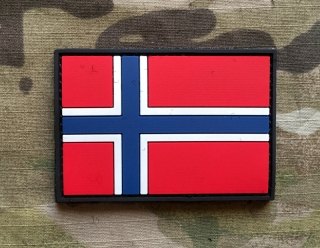 101inc Norway Flag PVC Patch - nášivka