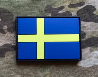 101inc Sweden Flag PVC Patch - nášivka