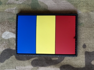 101inc Romania Flag PVC Patch - nášivka