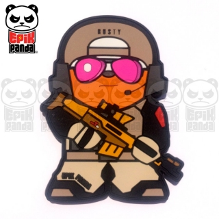 EPIC PANDA Rusty PVC Patch