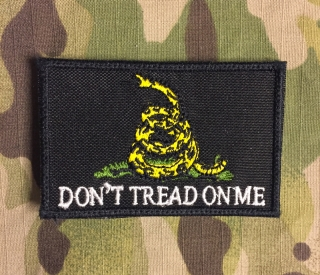 LaPatcheria Don't Tread on Me Patch