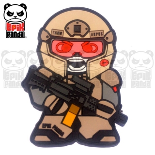 EPIC PANDA Tank PVC Patch