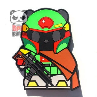 EPIC PANDA PMC Panda PVC Patch