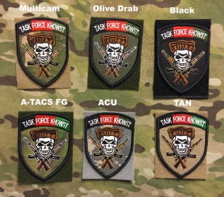 YJPF Afghanistan Task Force Khowst Patch