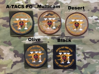 YJPF Seal Team 6 Punisher Geronimo E KIA Patch