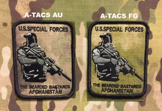 YJPF The Bearded Bastards Afghanistan Patch