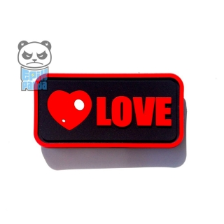 EPIC PANDA LOVE PVC Patch