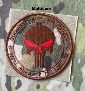 YJPF Punisher God Will Judge Our Enemies Patch