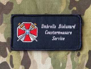 YJPF Resident Evil Umbrella Biohazard Countermeasure Service Patch