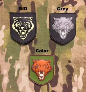 JTG Small Wolf PVC Patch