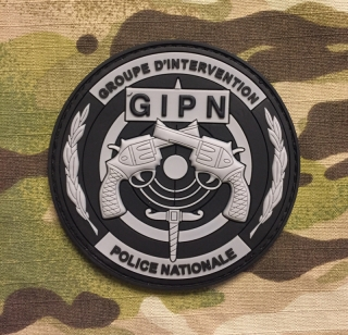 JTG Grupe d Intervention Police Nationale PVC Patch