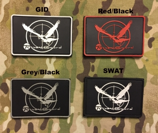 YJPF Metal Gear Solid PMC Raven Sword PVC Patch