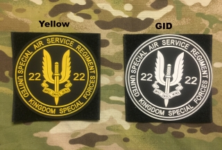 YJPF SAS 22Reg PVC Patch