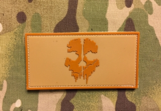 YJPF Call of Duty 10 Ghost PVC Patch - Desert