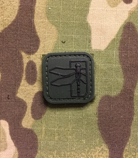 YJPF Haley Strategic Dragonfly Small PVC Patch