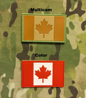 YJPF Canadian Flag PVC Patch