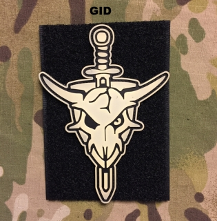YJPF Macross Skull PVC Patch