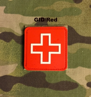 YJPF Red Cross PVC Patch
