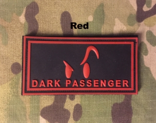 YJPF Dark Passenger PVC Patch