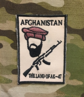 LaPatcheria Afghanistan Land of AK-47 Patch