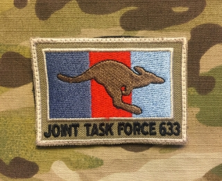 LaPatcheria Australia Joint Tack Force 633 Patch