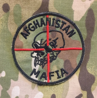 LaPatcheria Afghanistan Mafia Patch