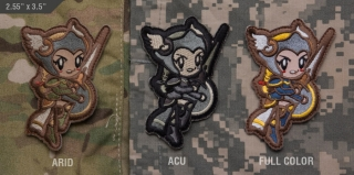 MSM Cute Valkyrie Patch