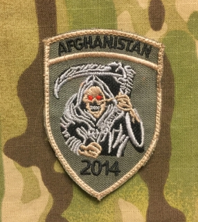 LaPatcheria Afghanistan 2014 Patch