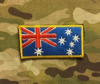 LaPatcheria Australia Flag Patch Color