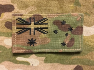 LaPatcheria Australia Flag Patch Multicam
