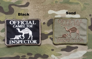 LaPatcheria Camel Toe Inspector Patch