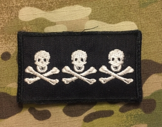 LaPatcheria Christopher Condent Pirate Flag Patch