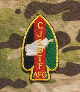 LaPatcheria CJSOTF AFG Patch