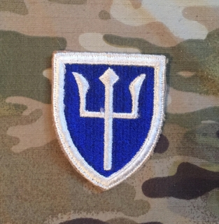 US Army 97th Infantry Division WW II. Patch nášivka