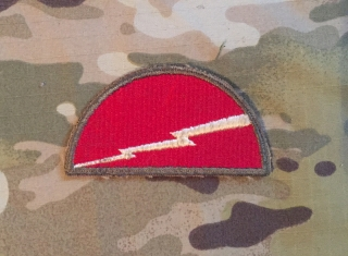 US Army 78th Infantry Division WW II. Patch nášivka