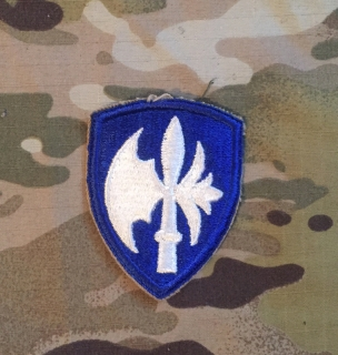US Army 65th Infantry Division WW II. Patch nášivka