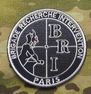 Police Nationale BRI Paris Patch nášivka