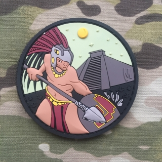 MAXPEDITION Aztec Warrior Patch - Color - nášivka