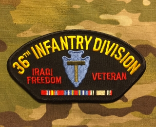 36th Infantry Division Iraqi Freedom Veteran Patch nášivka