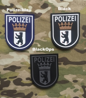 JTG Polizei Berlin PVC Patch - nášivka