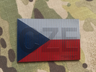 SPAEHER Czech Flag with CZE Infra Patch - nášivka
