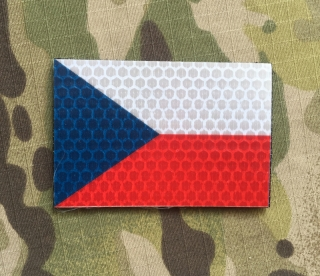 JTG Czech Flag INFRA Patch Color - nášivka